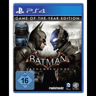 Batman: Arkham Knight  Game of the Year Edition  PS4