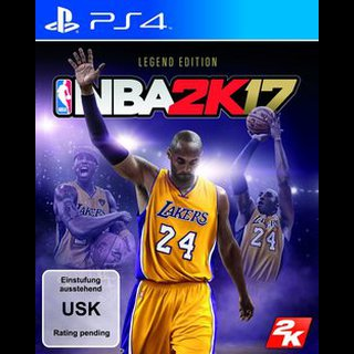 NBA 2K17  Legend Edition  PS4